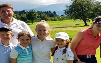 Junioren Golf Camp im Rastenmoos 2021